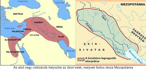 Ókori kelet térkép