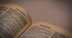 Az egynyelvű szótárak