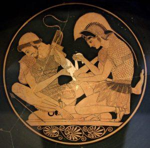 Akhilleus és Patroklos