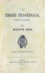 Az ember tragédiája (első kiadás) 1861