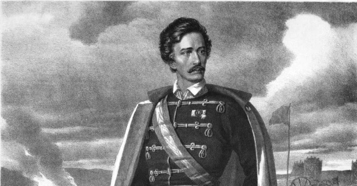 Petőfi Sándor volt Honvéd őrnagy