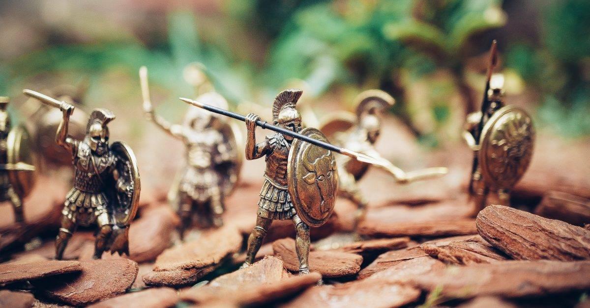 Spártai katonák