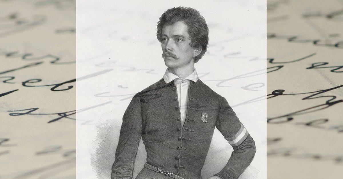 Petőfi portréja
