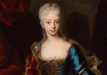Mária Terézia fiatalon