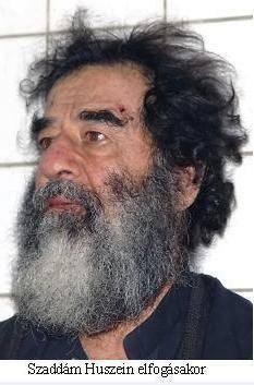 Saddam elfogásakor